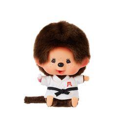 Lets Sports Monchhichi Judo Boy Big Head S