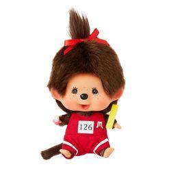 Lets Sports Monchhichi Field Athlete Girl Big Head S