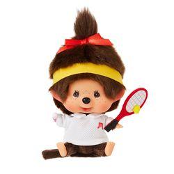 Lets Sports Monchhichi Tennis Girl Big Head S