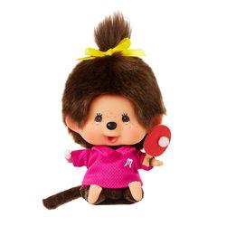 Lets Sports Monchhichi Ping-Pong Girl Big Head S