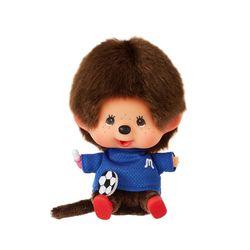 Lets Sports Monchhichi Soccer Boy Big Head S