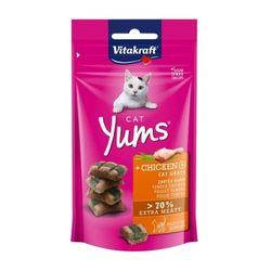 비타크래프트 캣얌 치킨 캣그라스 40g 고양이간식