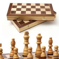 원목 접이식 체스 일반형 중형