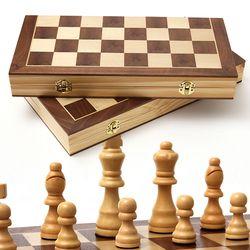 원목 접이식 체스 일반형 대형
