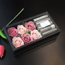 산딸기 용돈 플라워 박스 - 비누