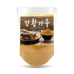 한바람식품 인도산 강황가루 강황분말 1팩 100g