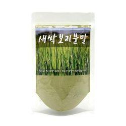 한바람식품 새싹보리분말 가루 파우더 1팩 100g