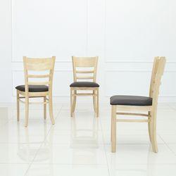 우디 원목의자 식탁의자