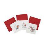 피너츠 스누피 3종 카드 (3 option)