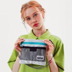 multiwaypost pouch bagsilver (M)