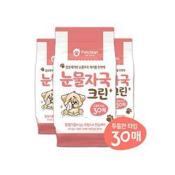 Petclean 눈물자국 크린물티슈 30매x14개 (1박스) (pt)
