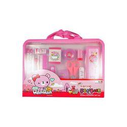 10000 지퍼가방문구선물세트2(CR)-핑크