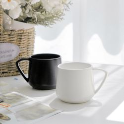 올리비아 무광 카페 머그잔 (2color)