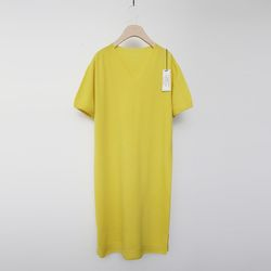 Maille Wool Cashmere Long Dress - 반팔