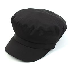 Cool Shiny Black Marine Cap 샤이니군모