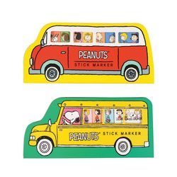 피너츠 스누피 버스 점착메모지 (2 option)