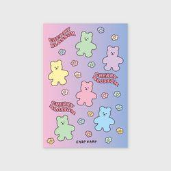 Blossom Bear friends(엽서)