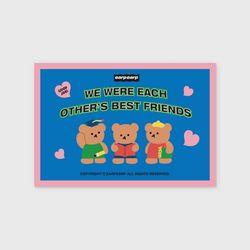 Smart bear friends(엽서)
