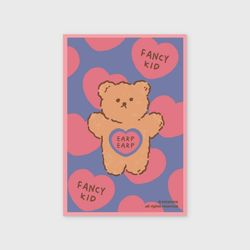 Fancy kid-pinkblue(엽서)