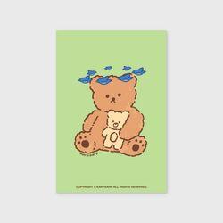 Blue bird bear(엽서)