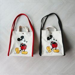 디즈니 미키 마우스 캔버스 에코백 (2color)