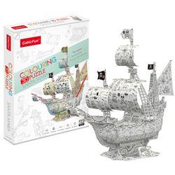 3d퍼즐 큐빅펀 산타마리아호 컬러링3D퍼즐
