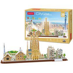 큐빅펀 3d퍼즐 시티라인 바르셀로나