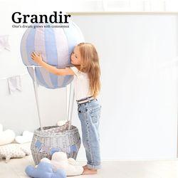 그랑디르 싱글 유아 자석 칠판 화이트
