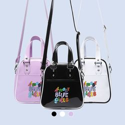 ABG ENAMEL CROSS BAG