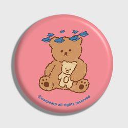 blue bird bear-pink(거울)