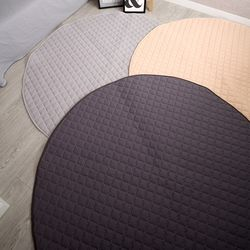 면혼방 브람스 원형 거실 카페트 러그 지름 150 cm