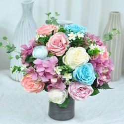 핑크핑크 산소꽃 성묘꽃다발