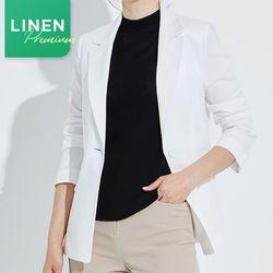 린넨 솔리드 자켓(4Color) DAJQ204G1
