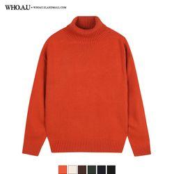유니 터틀넥 스웨터 / WHKL94V02U
