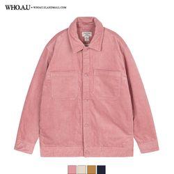 포근 코듀로이 아우터형 셔츠 / WHYA94T03U