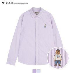 스티브 스트라이프 셔츠 / WHYSA2206U