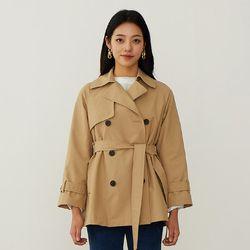 숏 트렌치 코트 (2color) DAJA203G2