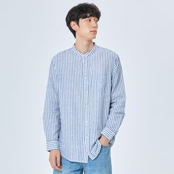 [오션린넨] 스탠드카라 셔츠(RE)_SPYS937C92
