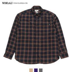 구김 없는 데일리 빅체크 셔츠 / WHYC94902U