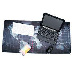세계지도 대형 와이드 마우스 데스크 장 패드 매트 400x900