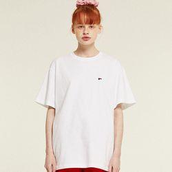 Mini Logo Half T-Shirts (white)