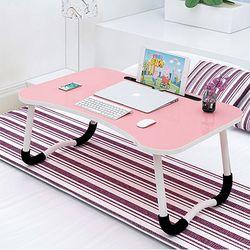 접이식 좌식 컴퓨터 노트북 공부 테이블 책상 좌탁 슬롯포켓