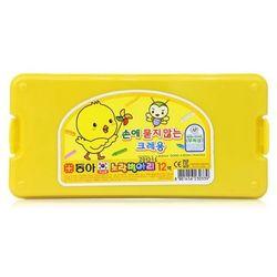 12색 노랑병아리 크레용