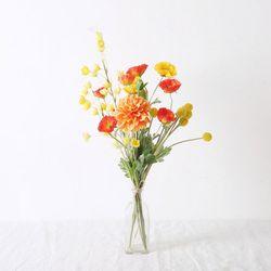 로얄 양귀비 꽃다발