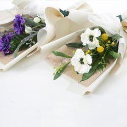 핸드메이드 러블리 아네모네꽃다발 (2COLOR)