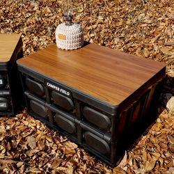 캠퍼필드 코코 폴딩박스 캠핑테이블 포켓세트