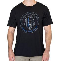 [5.11 택티컬] 알파 독 블루 티셔츠 (블랙)