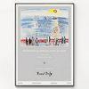 대형 메탈 바다 풍경 명화 그림 포스터 액자 라울 뒤피 no.12
