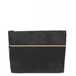 [10004] DB ZIP CLUTCH BAG-BLACK(DB집클러치백-블랙)