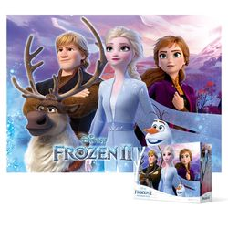 100피스 직소퍼즐 - 겨울왕국 2 바라보며 (큰조각)